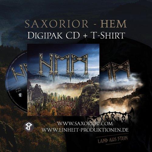 Saxorior - Hem Digi-CD + T-Shirt