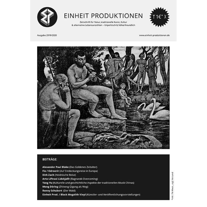 Einheit Produktionen - Zeitschrift (Ausgabe 2019/2020)
