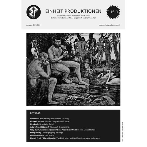 Einheit Produktionen  Newspaper (Issue 2019/2020)