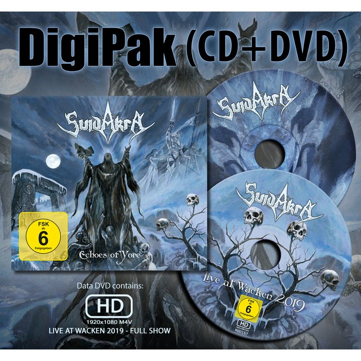 Suidakra - Echoes Of Yore Digi-CD+DVD