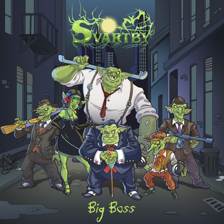Svartby - Big Boss CD