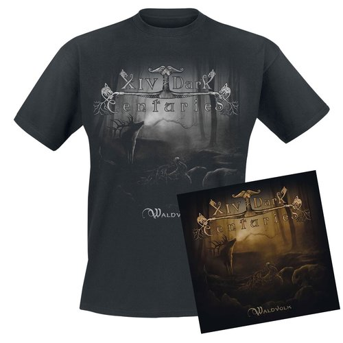 XIV Dark Centuries - Waldvolk Digi-CD + T-Shirt