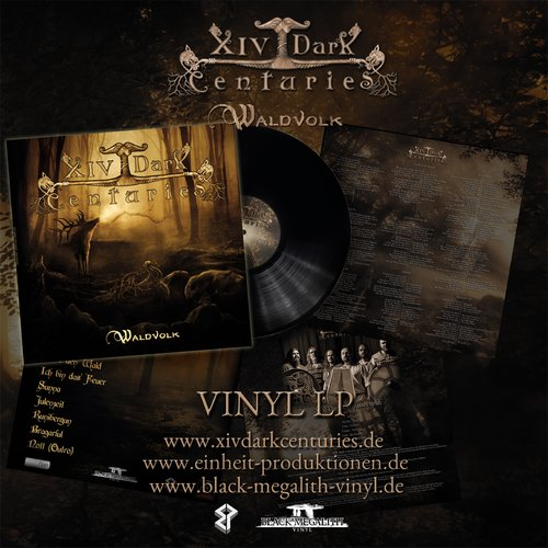 XIV Dark Centuries - Waldvolk LP