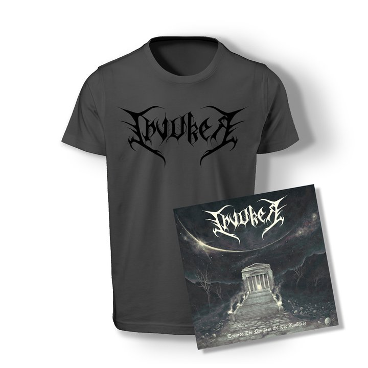Invoker - Towards The Pantheon Of The Nameless CD + T-Shirt
