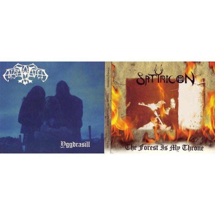 "Satyricon / Enslaved ""The forest /// Yggdrasill"" Split-Digi-CD"