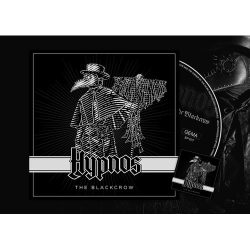 Hypnos - The Blackcrow Digi-CD + Sticker
