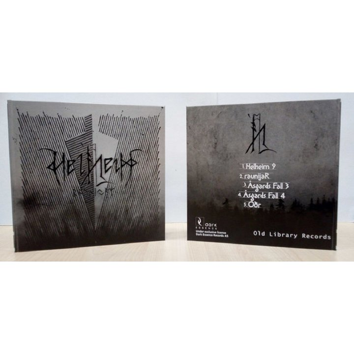Helheim - Raunijar Media-Book-CD