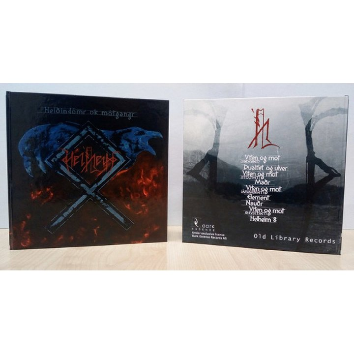 Helheim - Heidindomr ok Motgangr Media-Book-CD