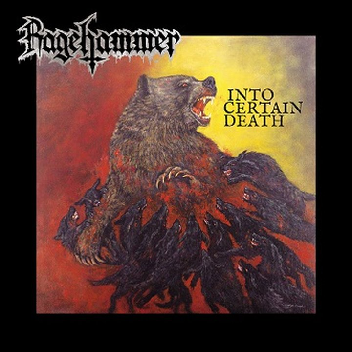 Rage Hammer - Into Certain Death CD