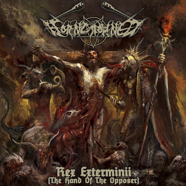 Horncrowned - Rex Exterminii (The Hand of the Opposer) CD