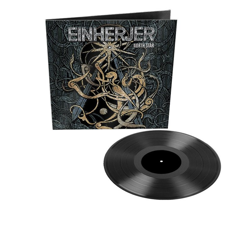 Einherjer - North Star BLACK LP