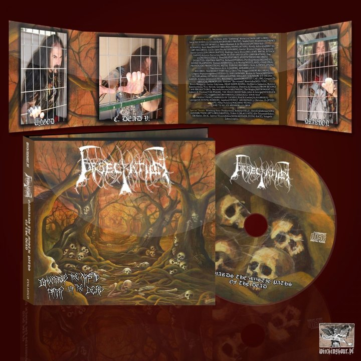 Obsecration - Onwards The Mystic Paths Of The Dead Digi-CD