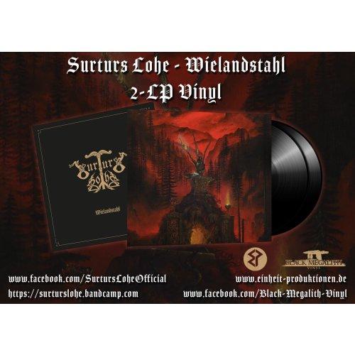 Surturs Lohe – Wielandstahl BLACK VINYL 2-LP