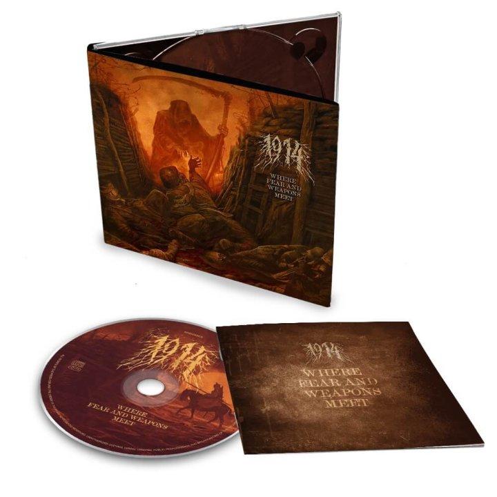 1914 - Where Fear and Weapons Meet Digi-CD