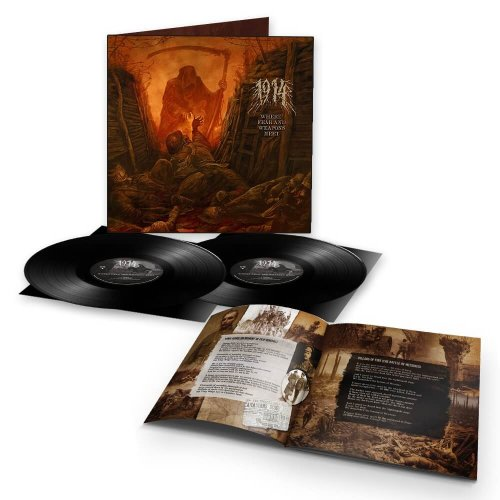 1914 - Where Fear and Weapons Meet BLACK 2-LP