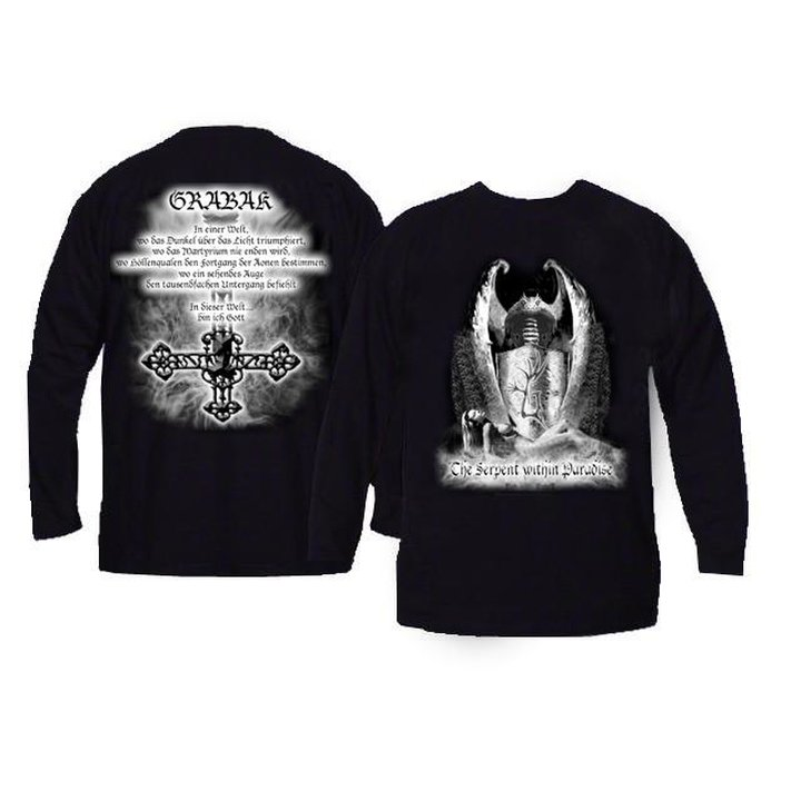 Grabak - The Serpent within Paradise  Long Sleeve Shirt