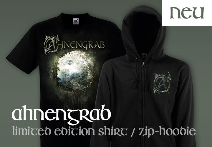 Ahnengrab - Limited Edition Shirt / Zip-Hoodie