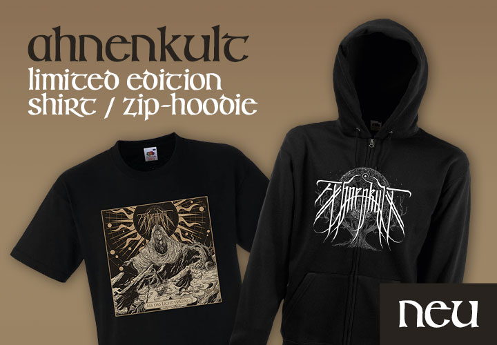 Ahnenkult - Limited Edition Shirt / Zip-Hoodie